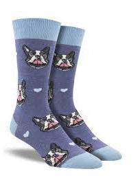 French Kiss Crew Socks