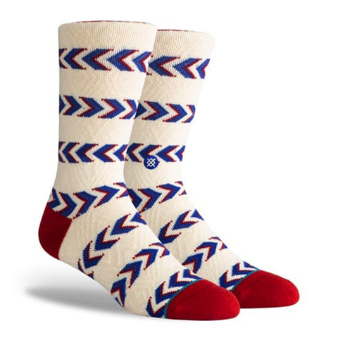 Friendship Stripe Crew Socks