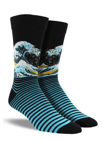 The Wave Crew Socks