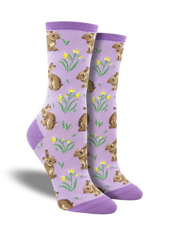 Relaxed Rabbit Crew Socks
