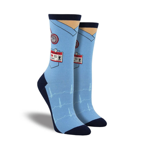 Scrubs Crew Socks