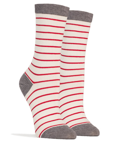 Arctic Stripes Crew Socks