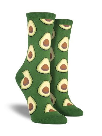 Avocado Crew Socks