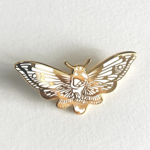 Death's Head Moth Pin