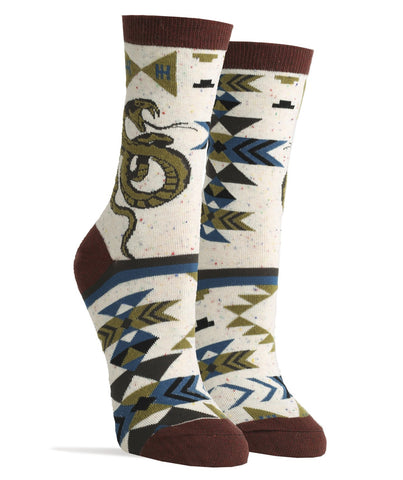 Snake Eyes Crew Socks
