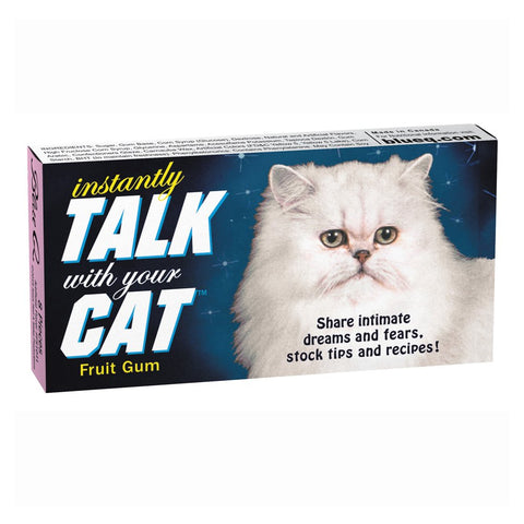 Instantly Talk To Your Cat Gum