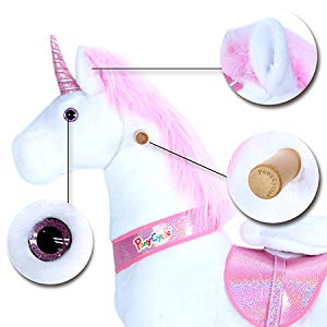PonyCycle Unicorn Pink Detail