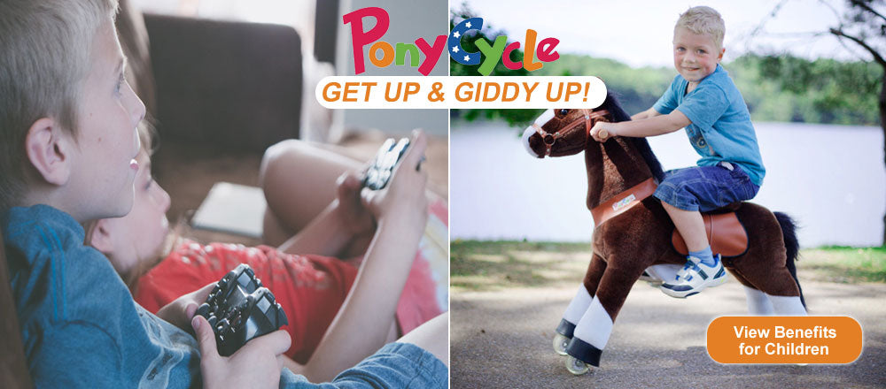 Get Up and Giddy Up with PonyCycle