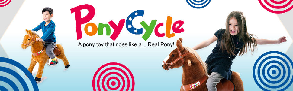 A pony toy that rides like a Real Pony!