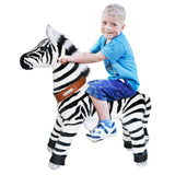 PonyCycle x Vroom Rider VR-N4012 Zebra for 4-9 Years Old