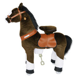 Vroom Rider x PonyCycle VR-N4152 Ride-On Chocolate Brown Horse for 4-9 Years Old - Medium