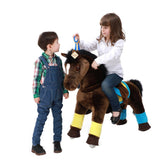 PonyCycle x Vroom Rider VR-K35 Dark Horse for 3-5 Years Old