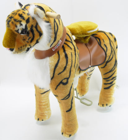 Vroom Rider x PonyCycle VR-N4113 Ride-On Tiger for 4-9 Years Old - Medium