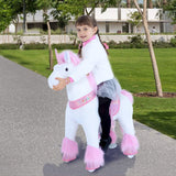 Vroom Rider x PonyCycle VR-U302 U-Series Ride-On Pink Unicorn for 3-5 Years Old - Small