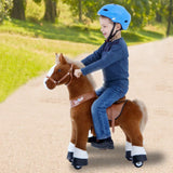 Vroom Rider x PonyCycle VR-U424 U-Series Ride-On Brown Horse for 4-8 Years Old - Medium