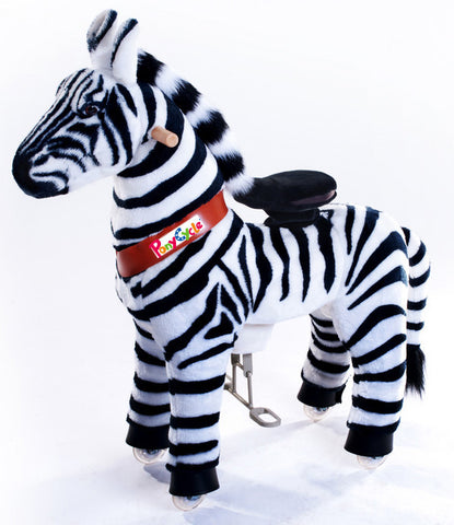 Vroom Rider x PonyCycle VR-N3012 Ride-On Zebra for 3-5 Years Old - Small - PonyCycle Store