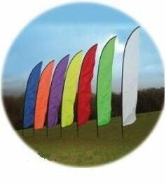 Festival Feather Banners Flags - United Flags And Flagstaffs