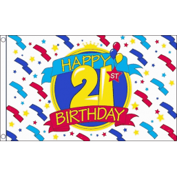Happy Birthday Flag - 21