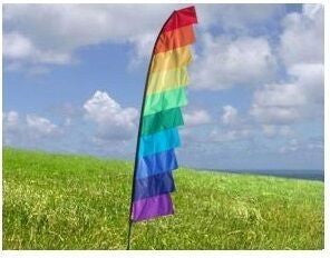 Festival Feather Flags - Spectrum Flags - United Flags And Flagstaffs