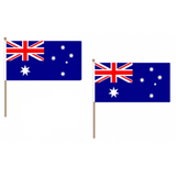 Australia Fabric National Hand Waving Flag  - United Flags And Flagstaffs