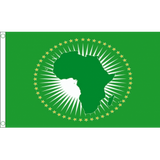 African Union - World Organisation Flags Flags - United Flags And Flagstaffs