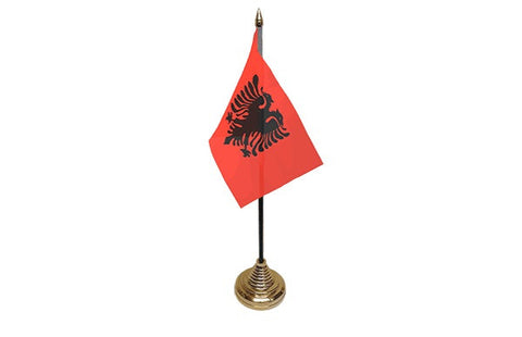 Albainia Table Flag Flags - United Flags And Flagstaffs
