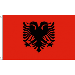 Albania National Flag - Budget 5 x 3 feet Flags - United Flags And Flagstaffs