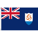 Anguilla National Flag - Budget 5 x 3 feet Flags - United Flags And Flagstaffs