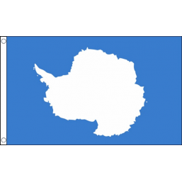 Antartica National Flag - Budget 5 x 3 feet Flags - United Flags And Flagstaffs