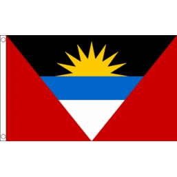 Antigua and Barbuda National Flag - Budget 5 x 3 feet Flags - United Flags And Flagstaffs