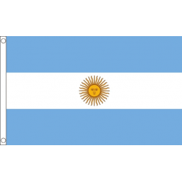 Argentina National Flag - Budget 5 x 3 feet Flags - United Flags And Flagstaffs