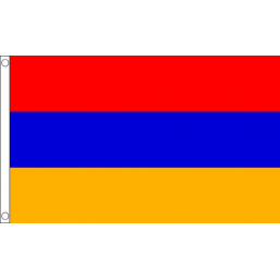 Armenia National Flag - Budget 5 x 3 feet Flags - United Flags And Flagstaffs