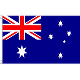 Australia National Flag - Budget 5 x 3 feet  - United Flags And Flagstaffs