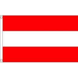 Austria (Civil) National Flag - Budget 5 x 3 feet Flags - United Flags And Flagstaffs