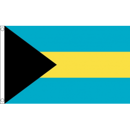 Bahamas National Flag - Budget 5 x 3 feet Flags - United Flags And Flagstaffs