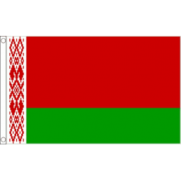Belarus National Flag - Budget 5 x 3 feet Flags - United Flags And Flagstaffs