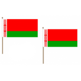 Belarus Fabric National Hand Waving Flag  - United Flags And Flagstaffs