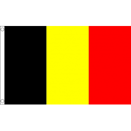 Belgium National Flag - Budget 5 x 3 feet Flags - United Flags And Flagstaffs
