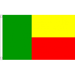 Benin National Flag - Budget 5 x 3 feet Flags - United Flags And Flagstaffs