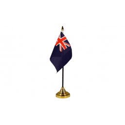 Blue Ensign - Military Table Flag Flags - United Flags And Flagstaffs