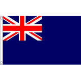 Blue Naval Ensign - British Military Flags - United Flags And Flagstaffs