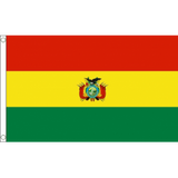 Bolivia (State) National Flag - Budget 5 x 3 feet Flags - United Flags And Flagstaffs