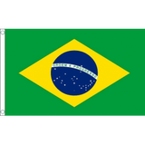 Brazil National Flag - Budget 5 x 3 feet Flags - United Flags And Flagstaffs