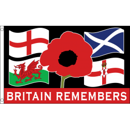 Britain Remembrance Flag - Flags - United Flags And Flagstaffs