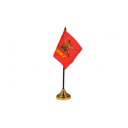British Army - Military Table Flag Flags - United Flags And Flagstaffs