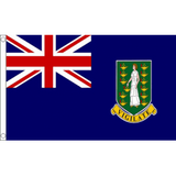 British Virgin Islands National Flag - Budget 5 x 3 feet Flags - United Flags And Flagstaffs