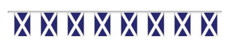 Six Nations Fabric Bunting - Scotland Flag Bunting - United Flags And Flagstaffs