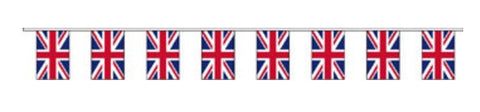 Economy Fabric Bunting - Union Flag  - United Flags And Flagstaffs