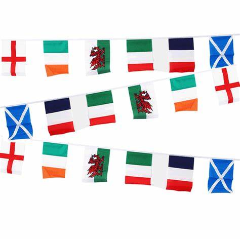 Six Nations Bunting Large Bunting - United Flags And Flagstaffs