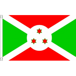 Burundi National Flag - Budget 5 x 3 feet Flags - United Flags And Flagstaffs